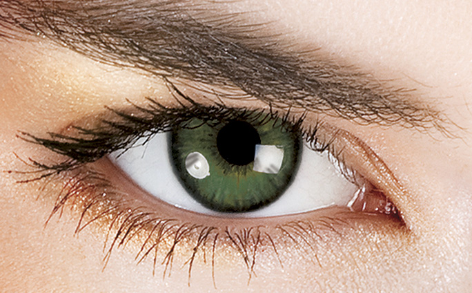 Dark Green Eye Contacts Color Contact L...