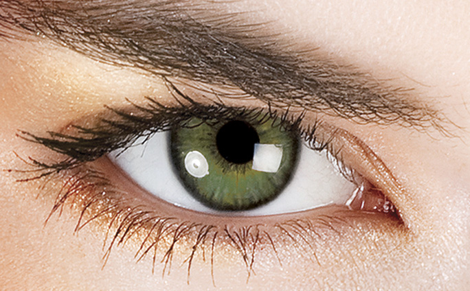 Image result for light green contacts